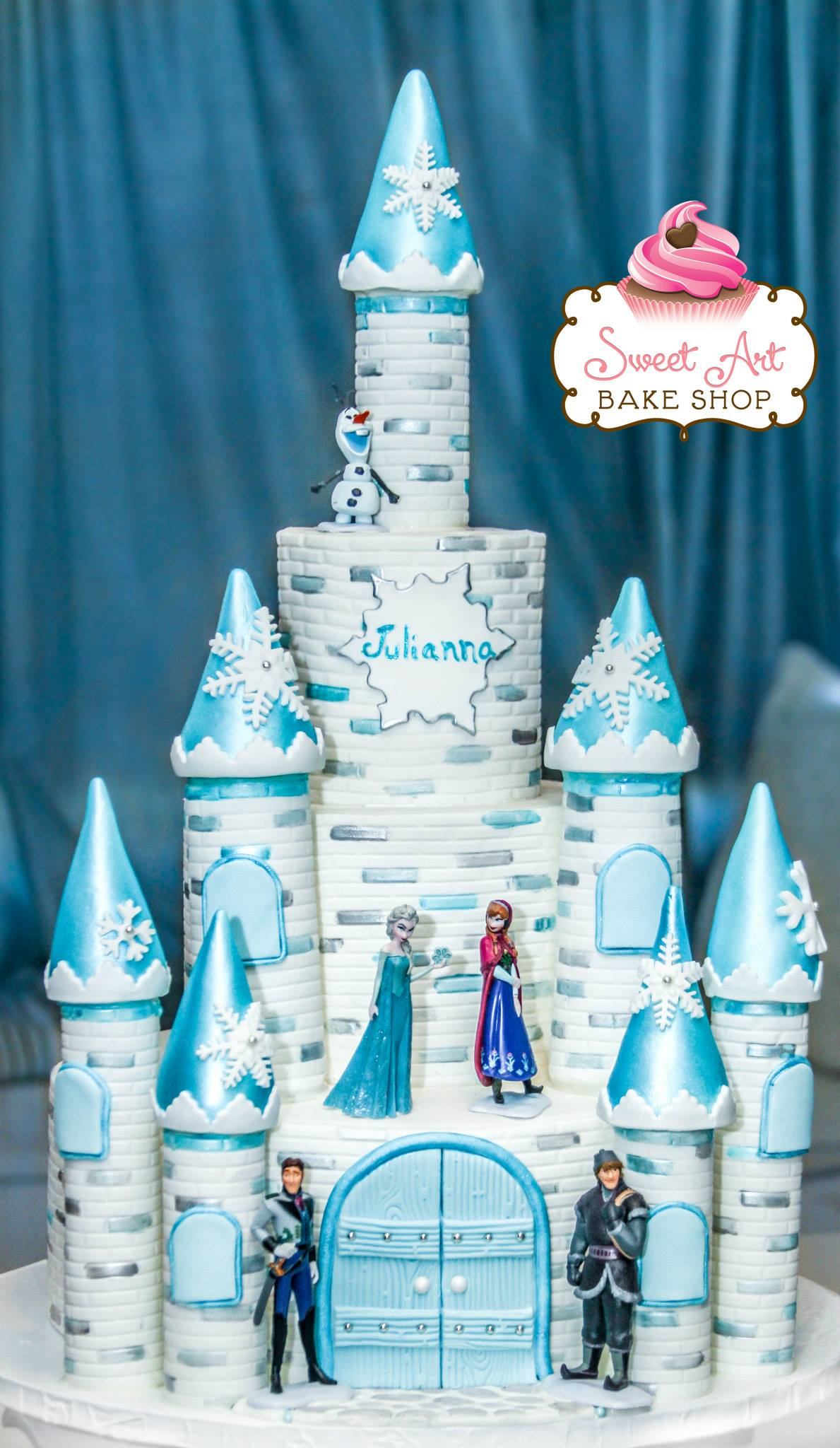 Amazing Castle Cake