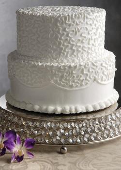 Crystal Round Wedding Cake Stand