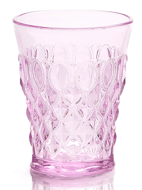 Passion Pink Glass Tumbler for Cake Pops