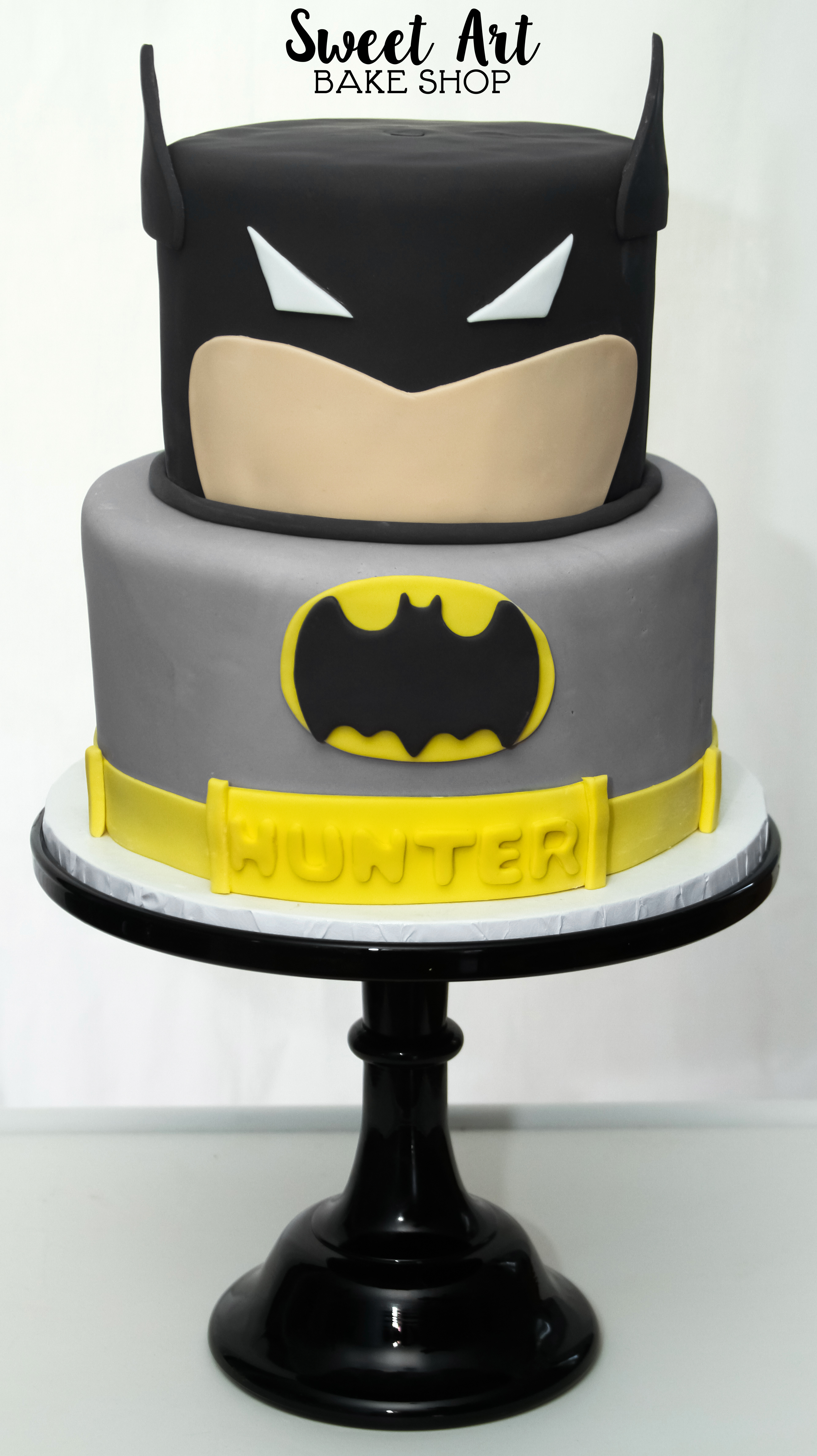 Hunter's Batman Cake