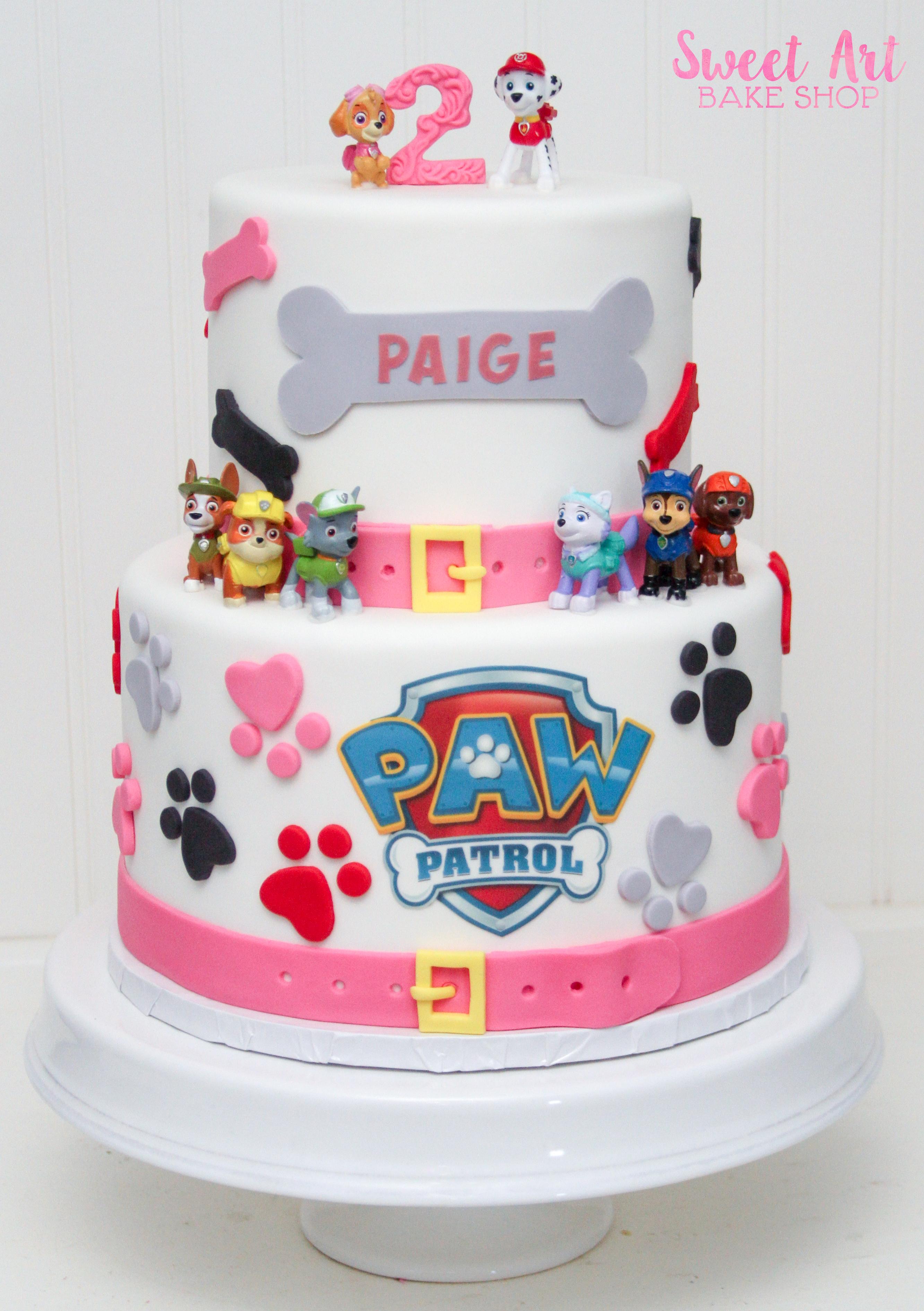 Paige's Paw Patrol Cake