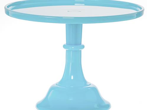 "9"" Robin's Egg Blue Cake Stand"