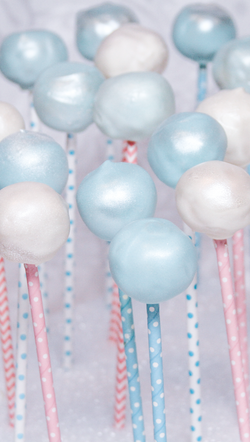 Bubble Theme Cake Pops $2.50