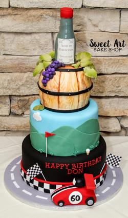 Don's 60th Birthday Cake