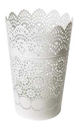 Large Lace Vase