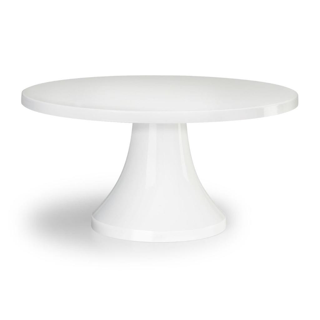 "16"" Simply Stunning White Cake Stand"