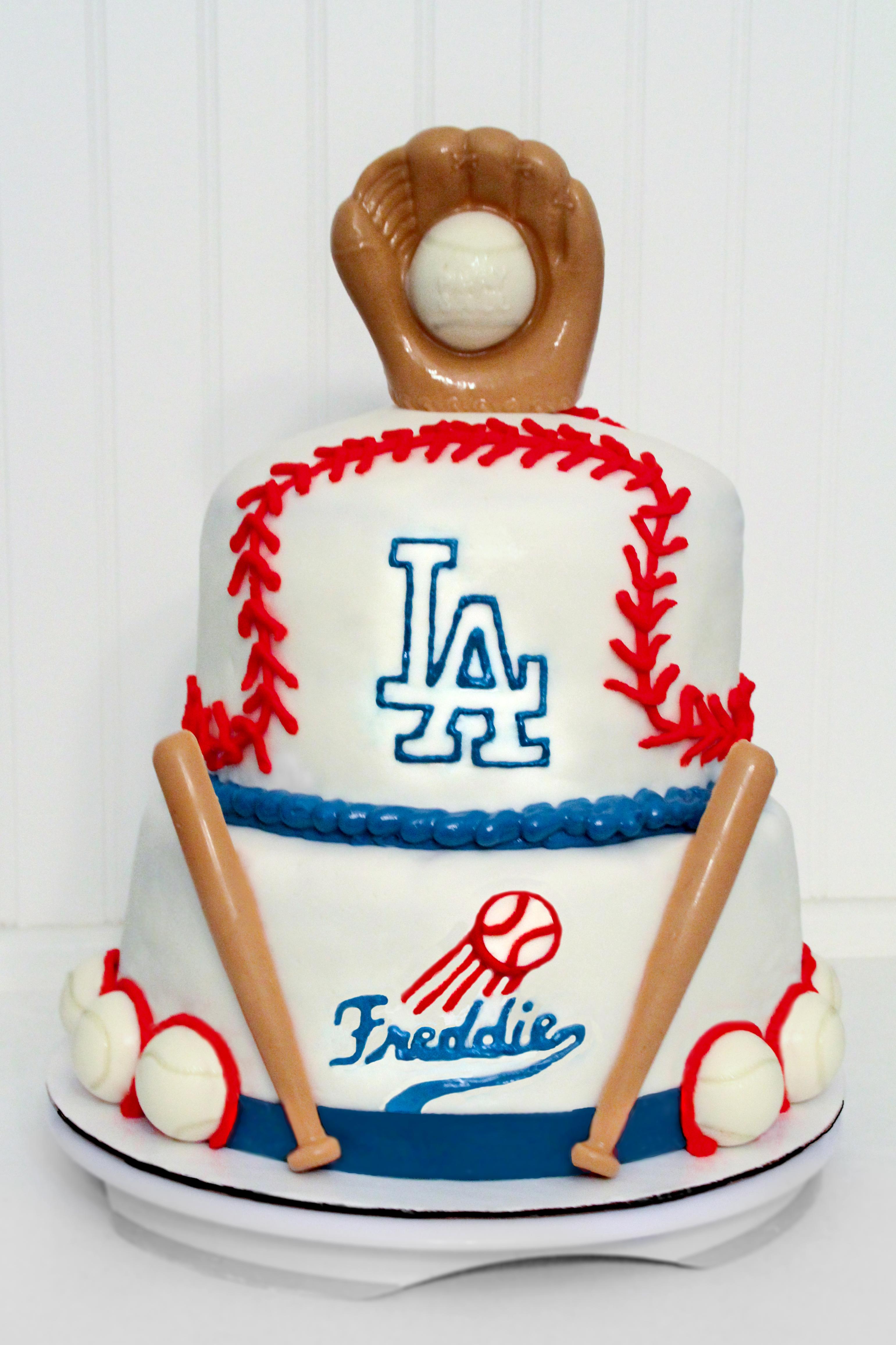Dodgers Fan Birthday Cake