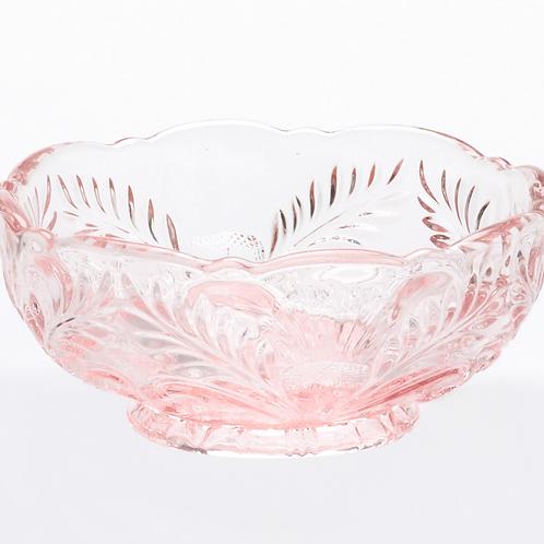 Romantic Rose Glass Bowl