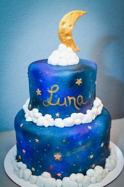 Luna's Baby Shower Cake