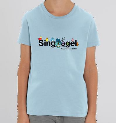 T-Shirt blau (Fairtrade)