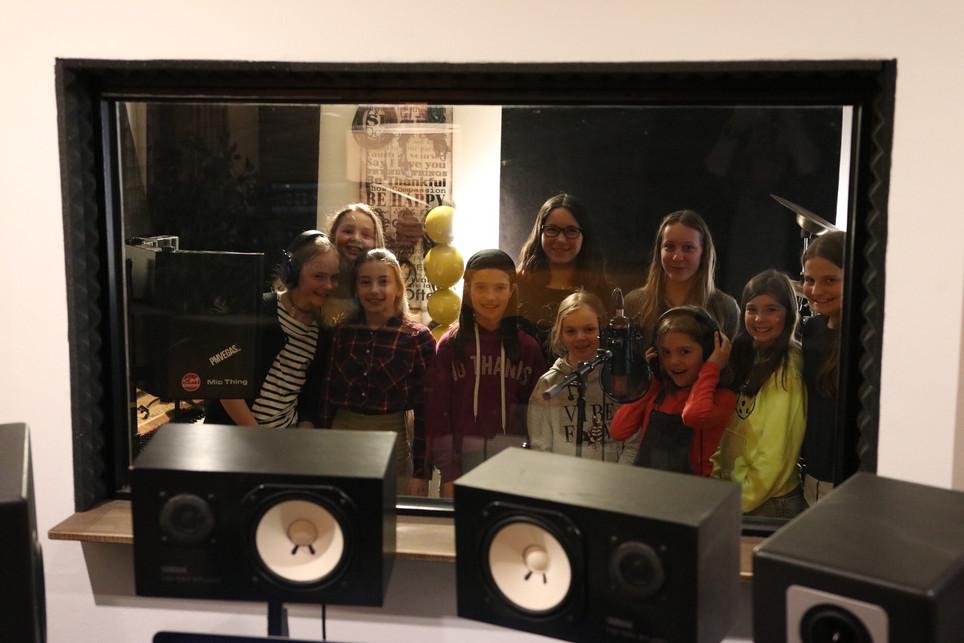 Singvögel im Studio