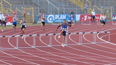Jordon legt vor: Mit Stadtrekord - 53,72 Sek. - in den Endlauf