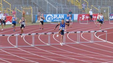 Jordan Gordon im ersten Langhürden-Jahr erfolgreich