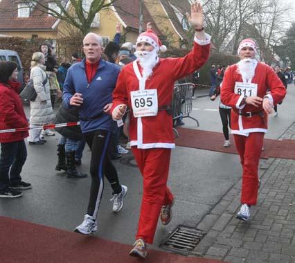 Nikolaus Kostüm Silvesterlauf
