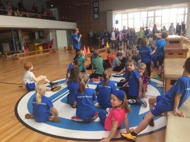 Super Stimmung beim gelebten inklusiven OTB - Kinder- Hallensportfest