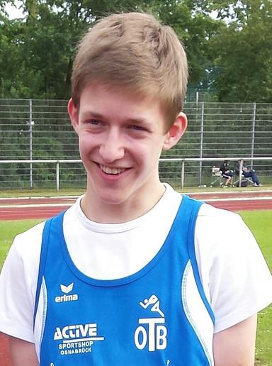 Tom Spierenburg mit prima Leistung bei DM in Aachen