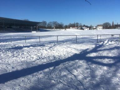 Illoshöhe im Schnee