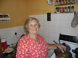 Grandma Matilda is Cooking Pic of Matilda in kitchen