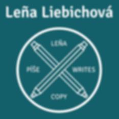 Leňa Liebichová copywriter logo