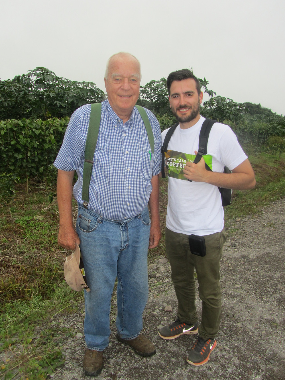 Photo with owner, Price Petersen