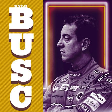 """Kyle Busch"" // Nascar Graphic"