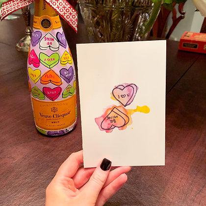 Blank Valentine Notes