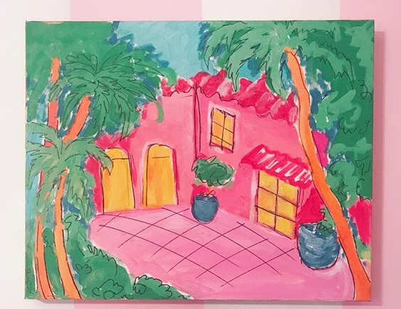 Acrylic on Canvas. Spring 2017