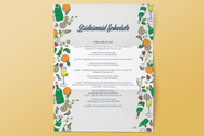 Bridesmaid Schedule