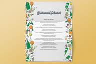 Bridesmaid Schedule