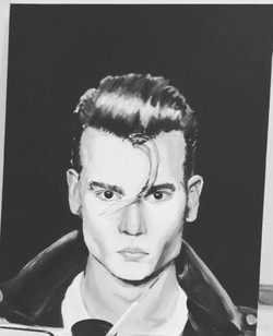 Acrylic on canvas. June 2017