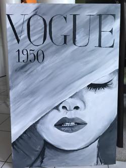Acrylic on canvas. May 2017
