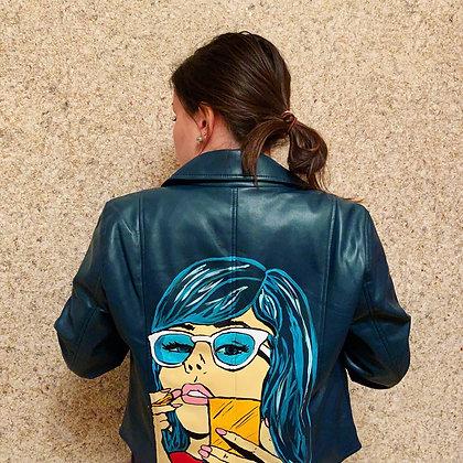 Pop Art Leather Jacket