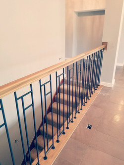 Riser Custom Stair Railing