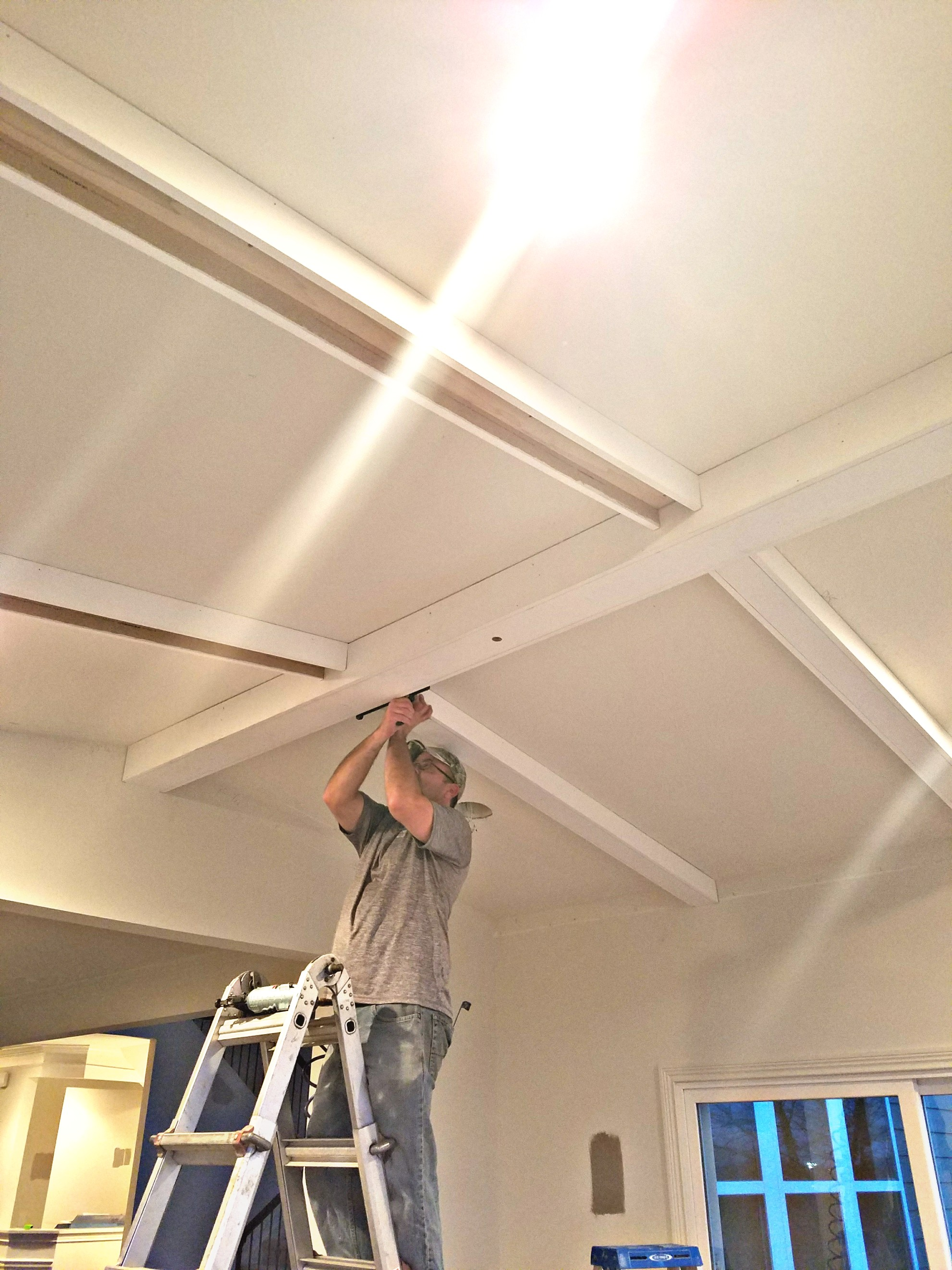 Riser Home Services Beamed Ceiling