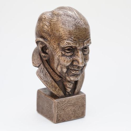 Captain Tom Moore 10cm Sculpture - Support The Captain Tom Foundation!