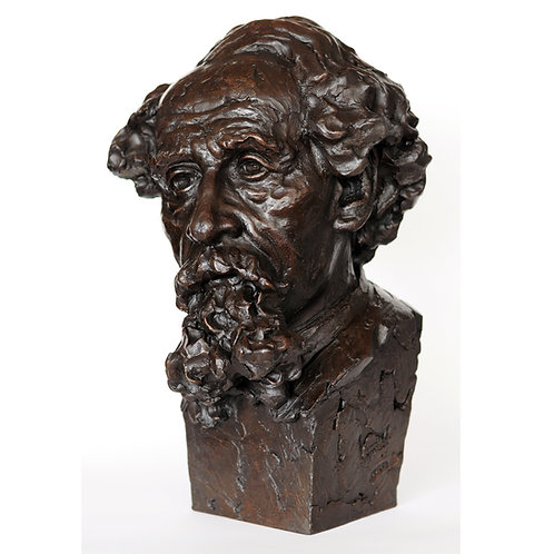 Charles Dickens over life-size