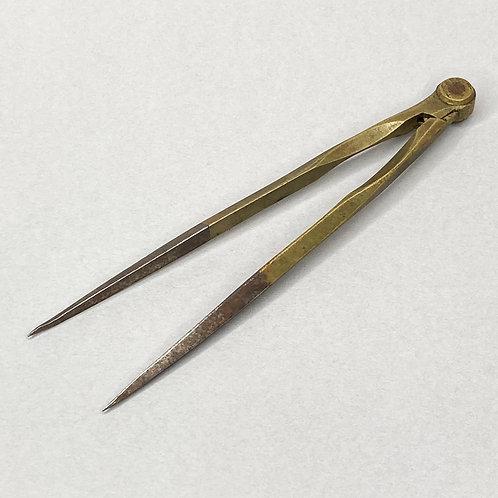14cm Vintage Brass Dividers