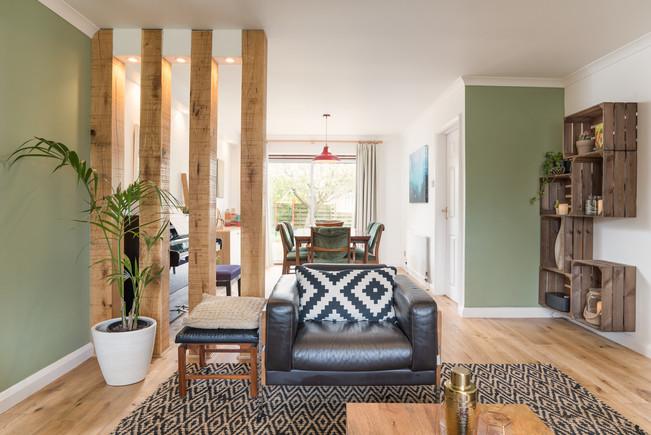 Green Living Room - Vicki