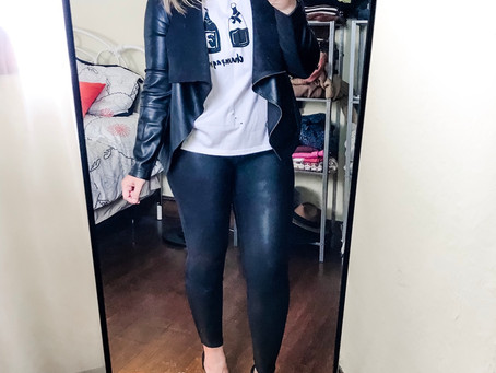 3 Ways to Style Spanx Leggings!