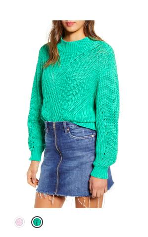 Chunk Stitch Sweater Nordstrom