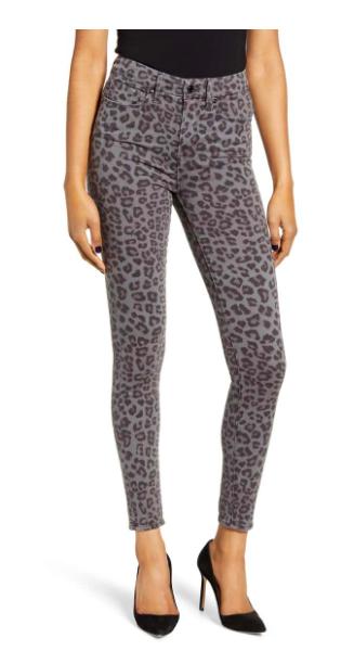 Leopard High Waisted Jean