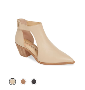 Pointy Toe Bootie Nordstrom Sale