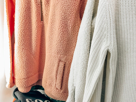 FIVE COZY OUTFITS WITH OLD NAVY!