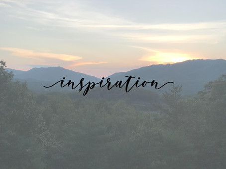 three things that are inspiring me