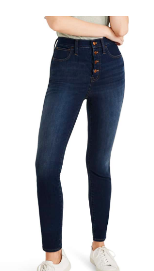 High Waisted Button Fly Nordstrom Sale