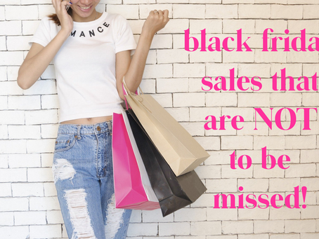Black Friday Sales That Cannot Be Missed !!