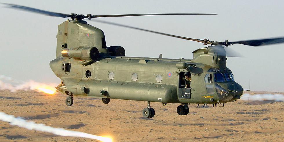 ALL SECTIONS - RAF Odiham Visit & Chinook Flight