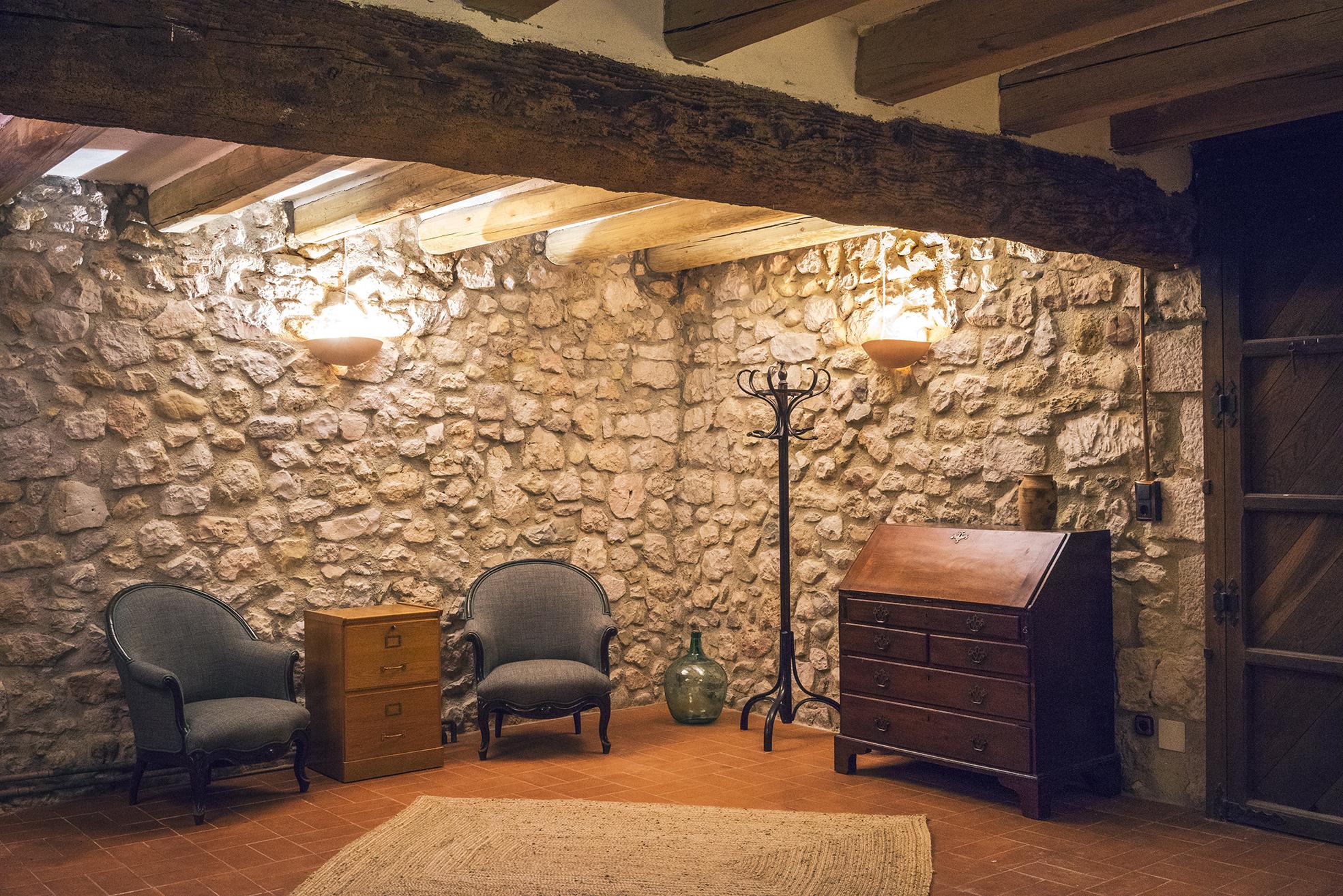 El recibidor o sala polivalente