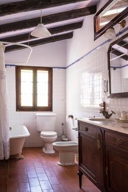 El baño de arriba