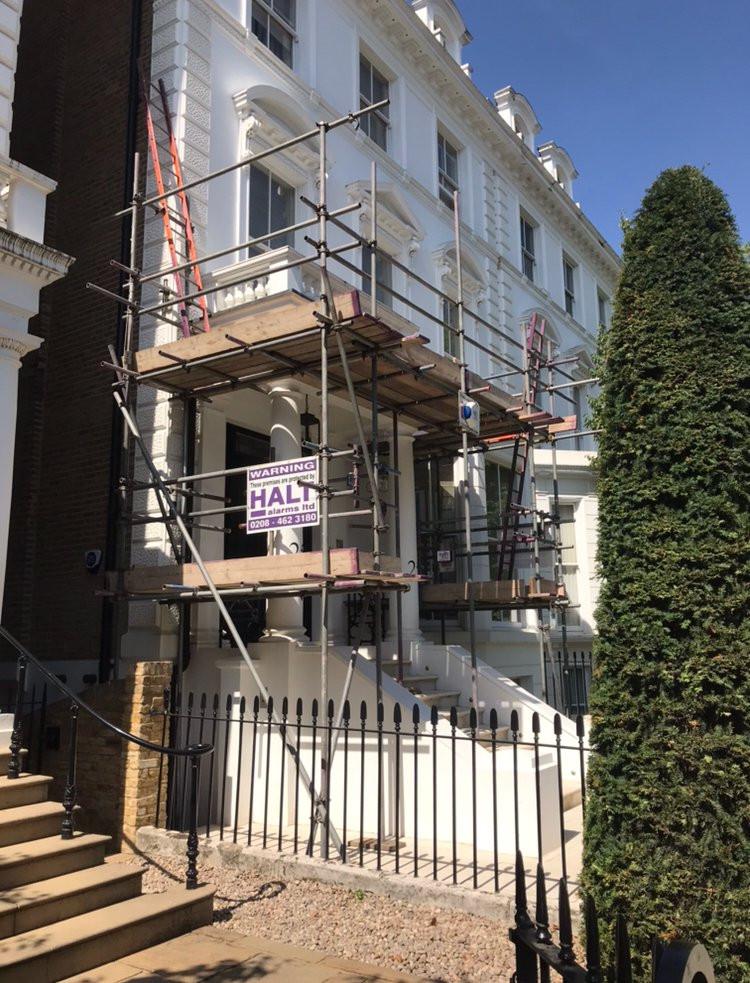 scaffold alarm